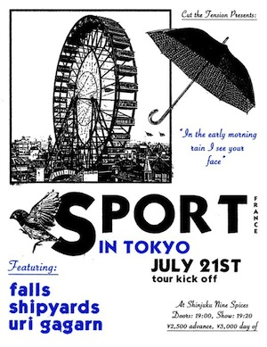 Cut The Tension presents SPORT Japan Tour 2017