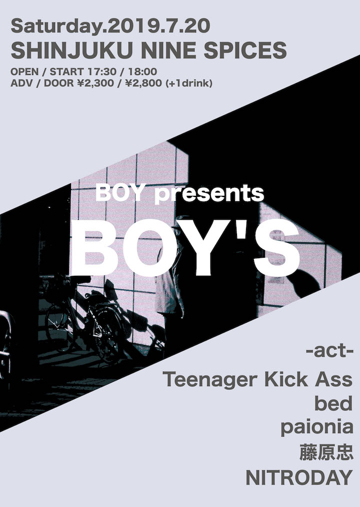 BOY presents「BOY'S」