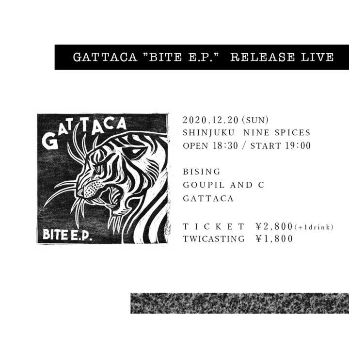 GATTACA '' BITE E.P.'' RELEASE LIVE