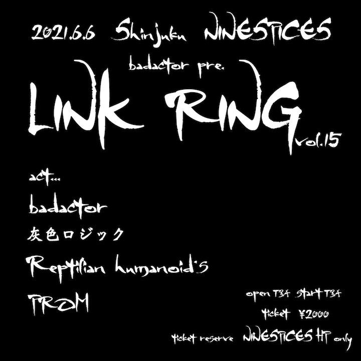 badactor pre. LINK RING vol.15